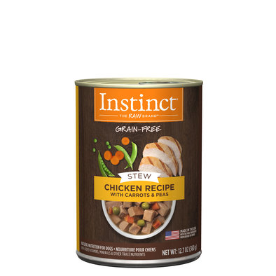 Can, Adult Stews Chicken with Carrots - 360 g
