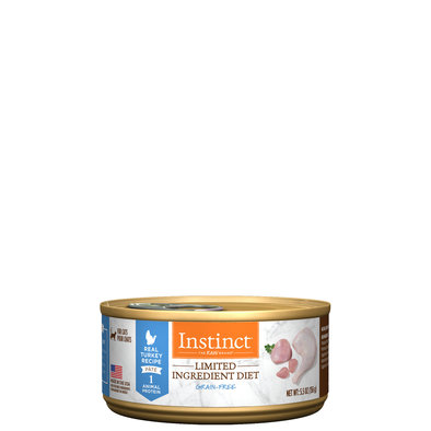 Limited Ingredient Diet Grain Free Turkey Wet Cat Food, 156 g