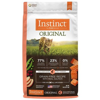 Instinct, Feline Adult - Original Grain Free - Salmon - 2.04 kg