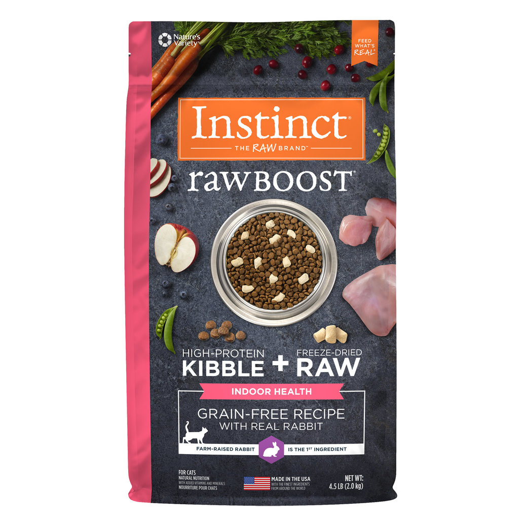 View larger image of Feline Adult - Raw Boost GF Indoor - Rabbit - 2.27 kg