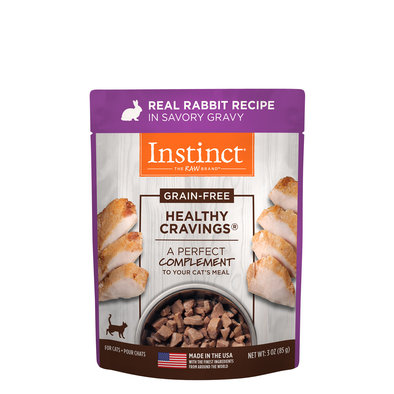 Pouch, Feline Adult - Healthy Cravings - Rabbit - 85 g