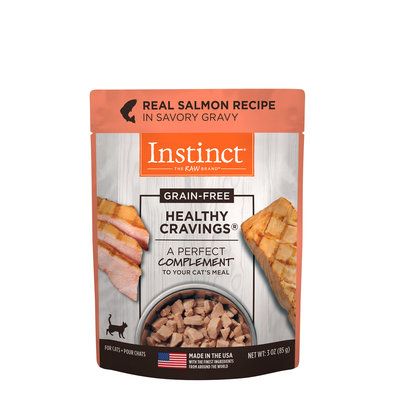 Pouch, Feline Adult - Healthy Cravings - Salmon - 85 g