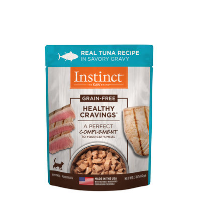 Pouch, Feline Adult - Healthy Cravings - Tuna - 85 g