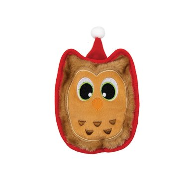 Invincibiles Holiday Owl - Brown - X-Small