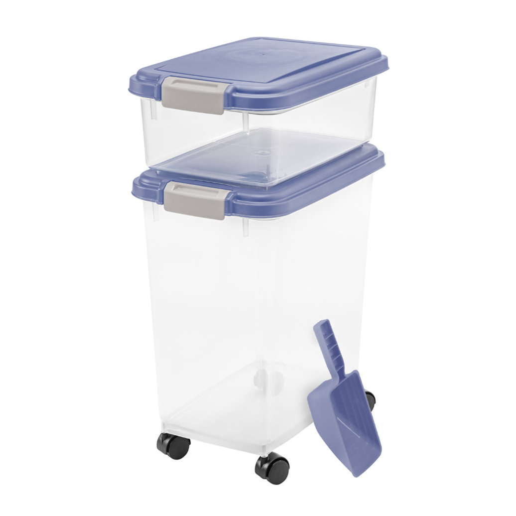 View larger image of Food Container & Scoop Combo - Blue Indigo