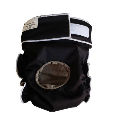 Doggie Diaper - Black
