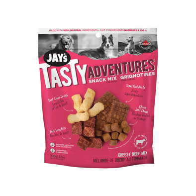 JAY'S, Cheesy Beef Snack Mix - 112g