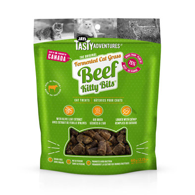 Fermented Cat Grass Treats - Beef - 70 g