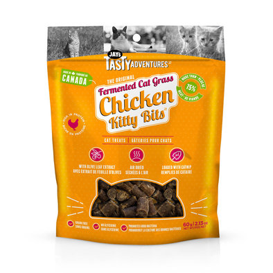 Fermented Cat Grass Treats - Chicken - 70 g