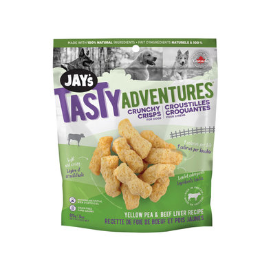 JAY'S, Yellow Pea & Beef Liver Crunchy Crisps - 97g