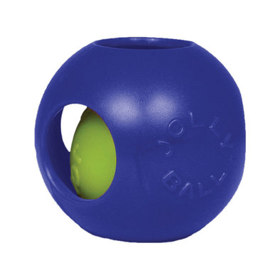 Hard Plastic Toy, Teaser Ball - Blue