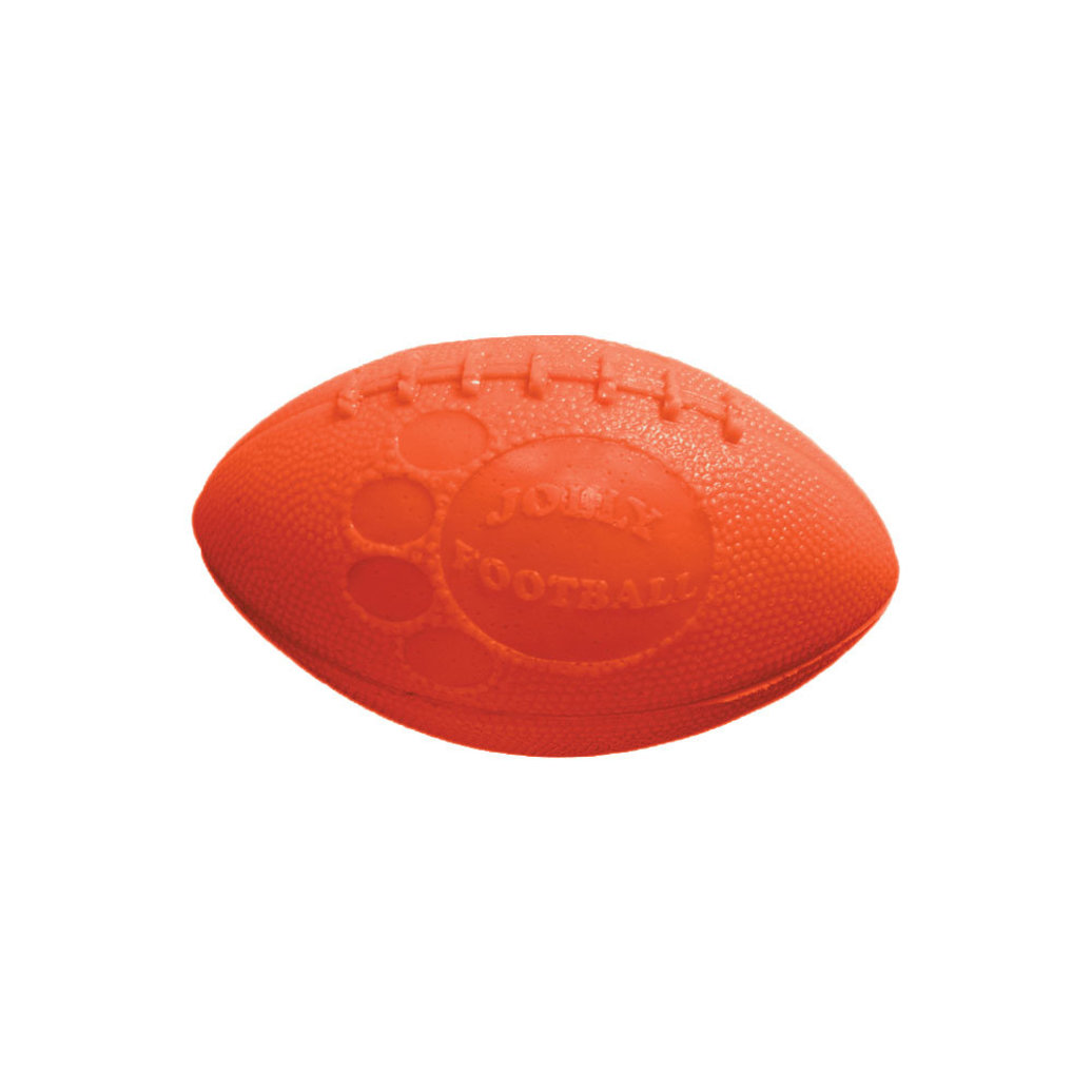 View larger image of Puncture Resistant Toy, Jolly Football - Orange