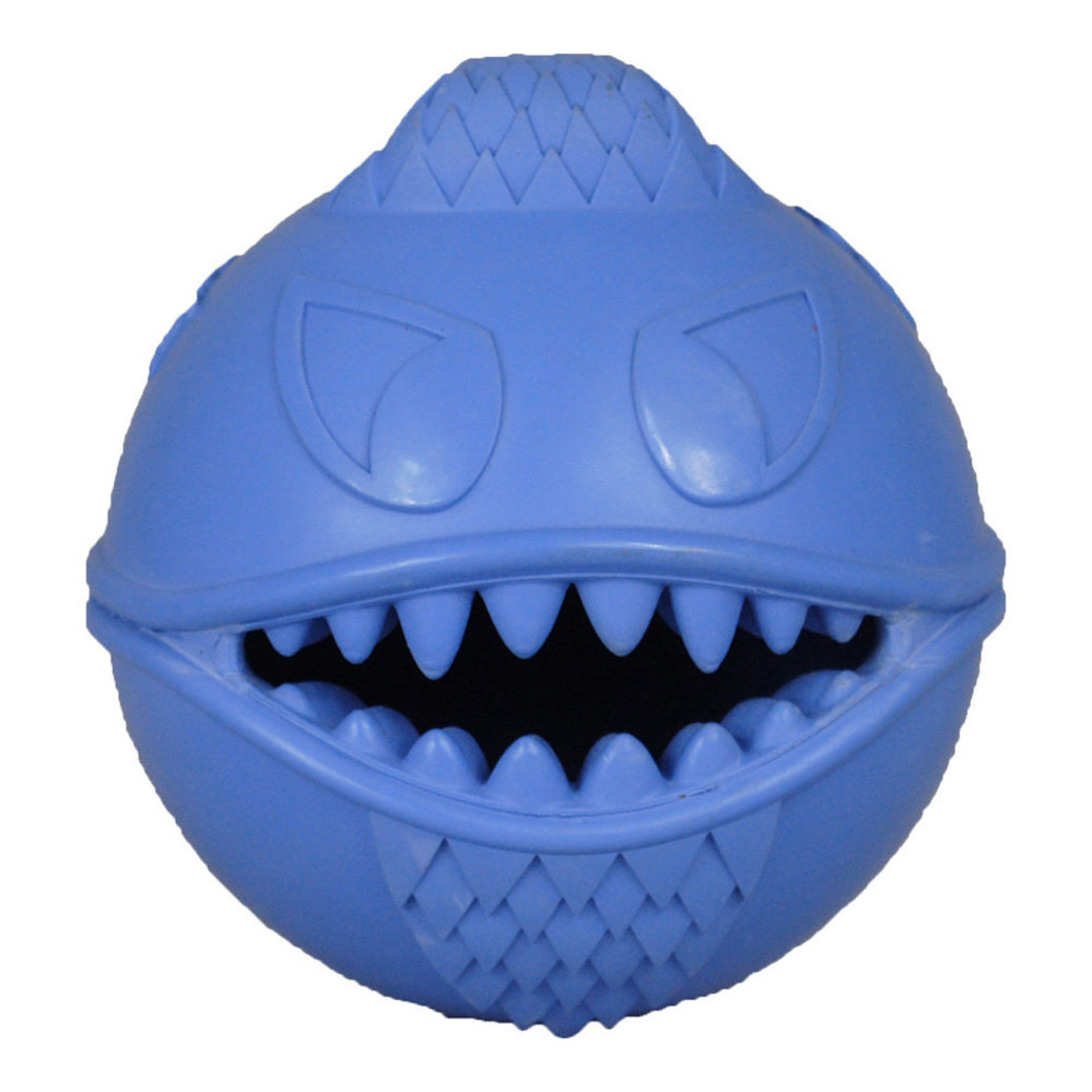 View larger image of Rubber Toy, Monster Ball - Blue