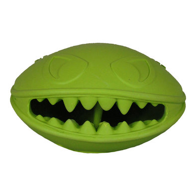 Rubber Toy, Monster Mouth - Green