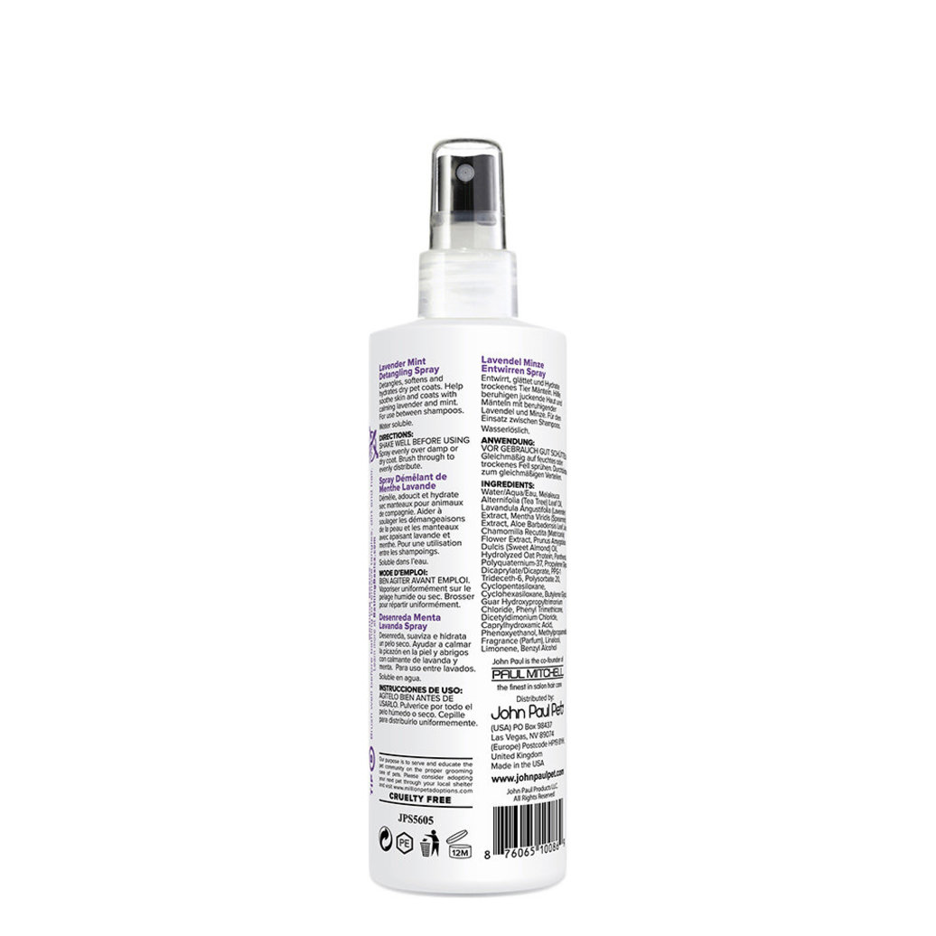 View larger image of Lavender Mint Detangling Spray - 8 oz