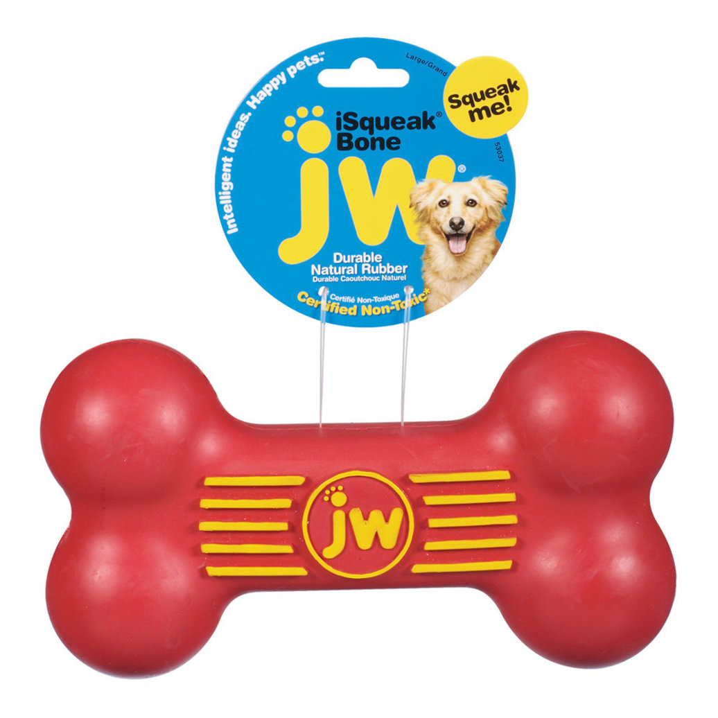 View larger image of i-Squeak Rubber Dog Bone
