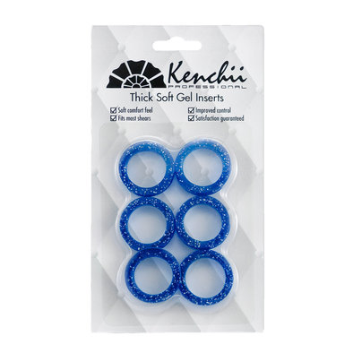 Finger Inserts - Blue - 6 Pk