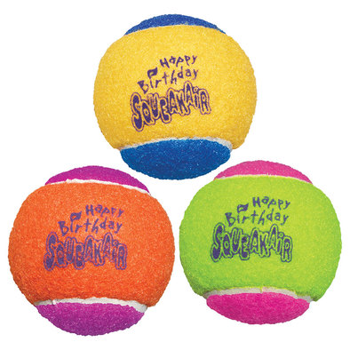 Birthday Air Squeaker Ball - Medium