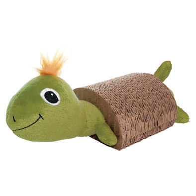 Cat Scratcher with Toy - Turtle