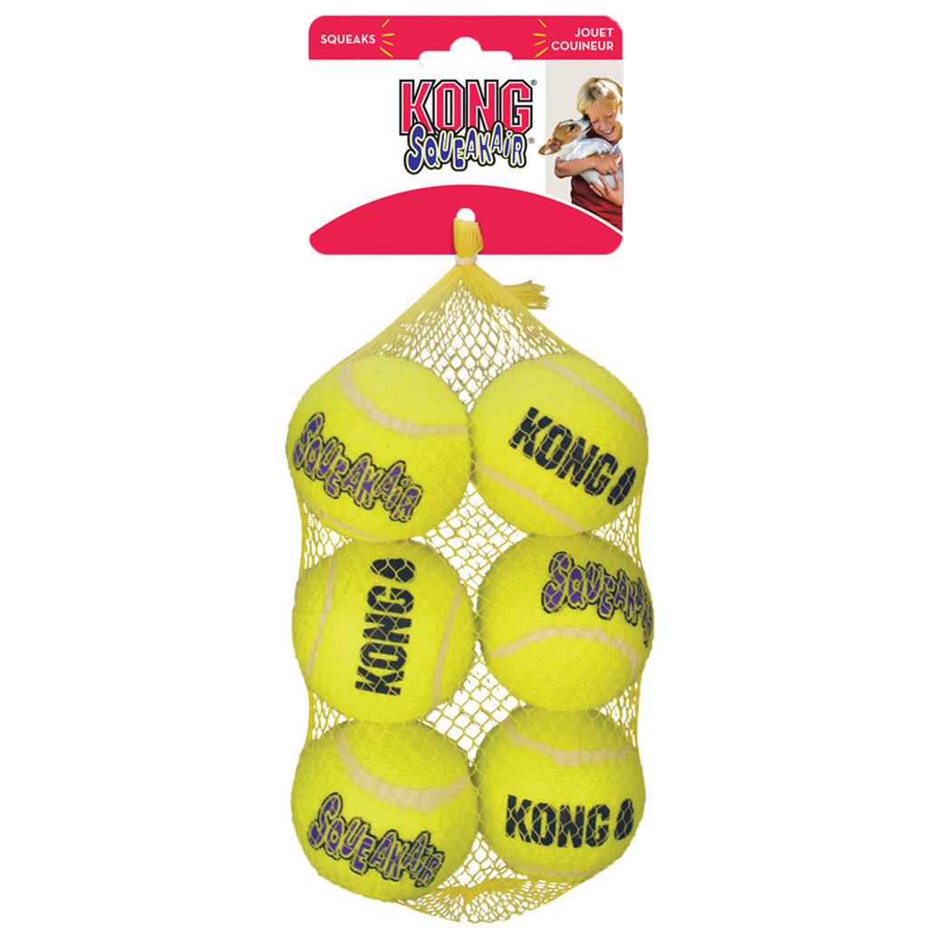 View larger image of SqueakAir Balls - Medium - 6 pk