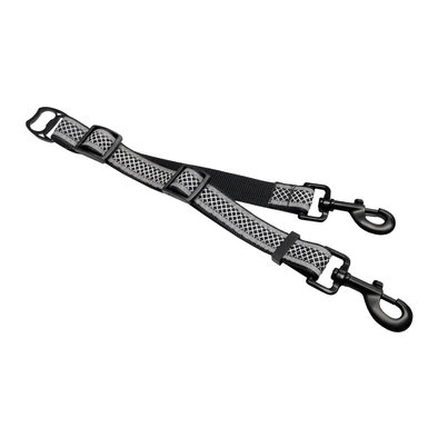 Wander Double Dog Leash Extender - Black