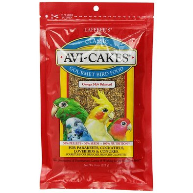 Avi-Cakes, Original for Parakeets, Cockatiels, Lovebirds & Conures - 8 oz