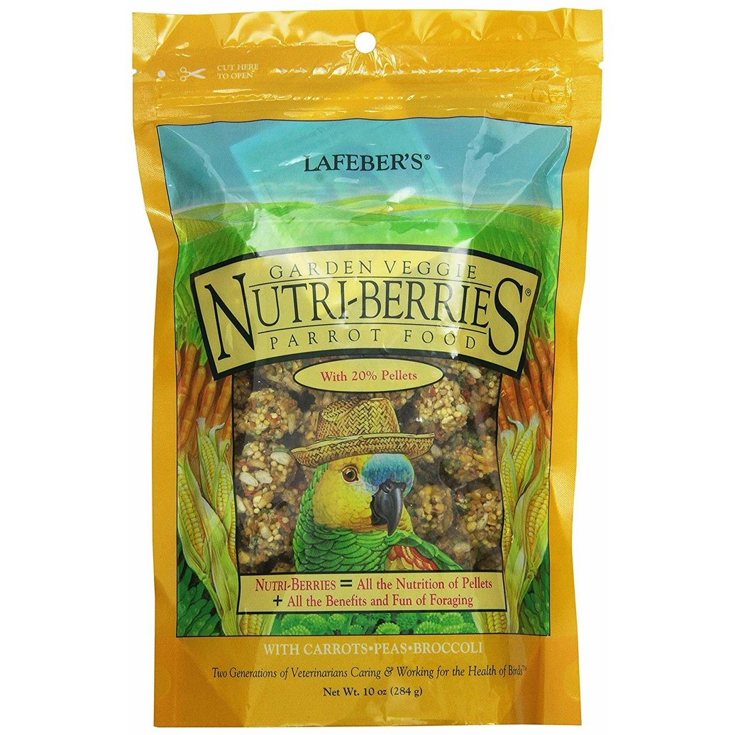 View larger image of Garden Veggie Nutri-Berries, Parrot - 10 oz