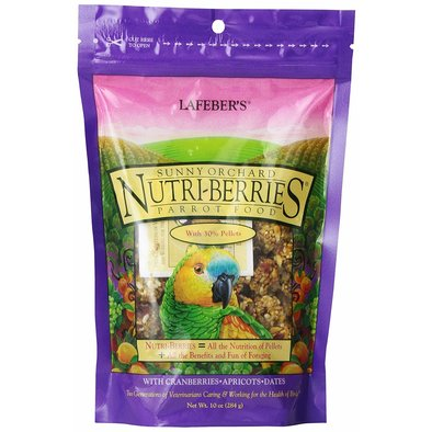 Sunny Orchard Nutri-Berries, Parrot - 10 oz