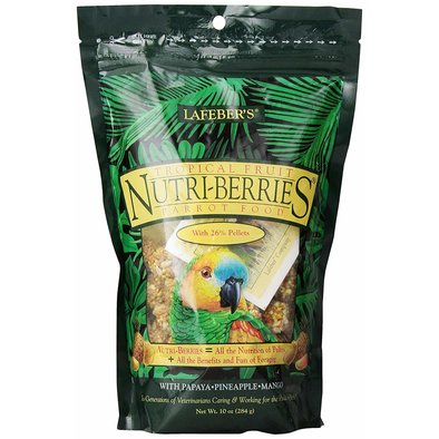 Tropical Fruit Nutri-Berries, Parrot - 10 oz