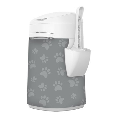 Design Plus Pail - Fabric Sleeve - Cat Paws
