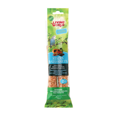 Budgie Fruit Stick - 2 Pk - 60 g