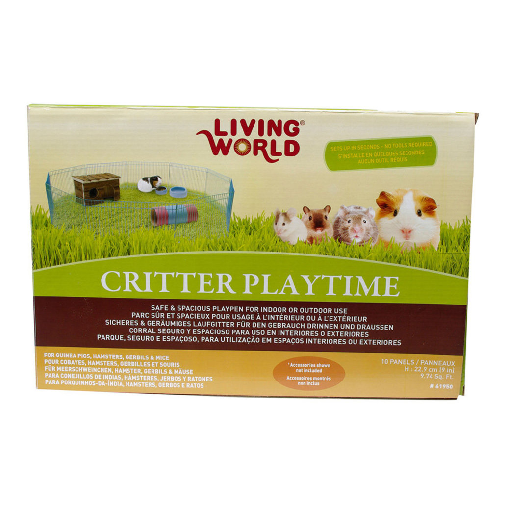 View larger image of Critter Playtime Animal Playpen - 13.5x9""