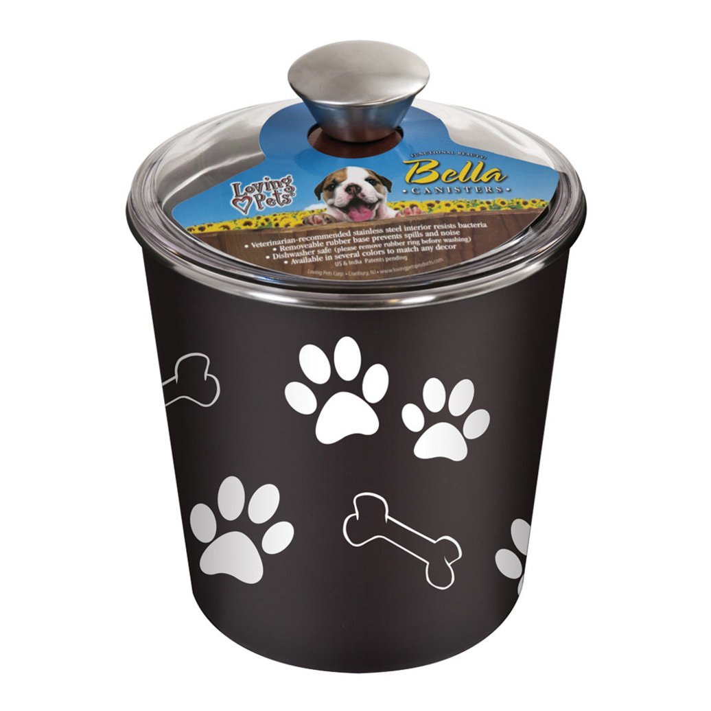 View larger image of Bella Bowl Canister - Espresso