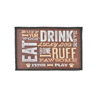 Bella Fashion Mat - Dog & Drink