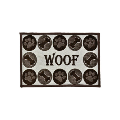 Bella Fashion Mat - Woof Chenille