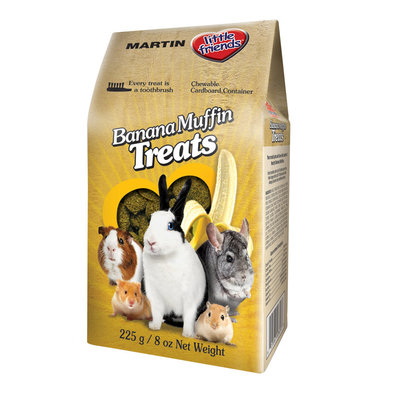Lil Friend Banana Muffins Treats - 225 g