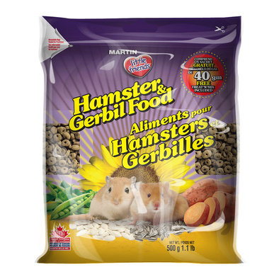 Little Friends, Hamster & Gerbil Food - 500 g