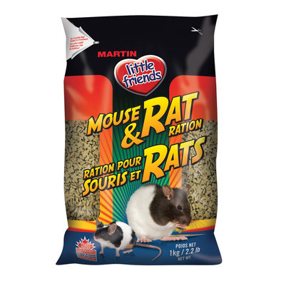 Little Friends, Mouse & Rat Ration - 1 kg