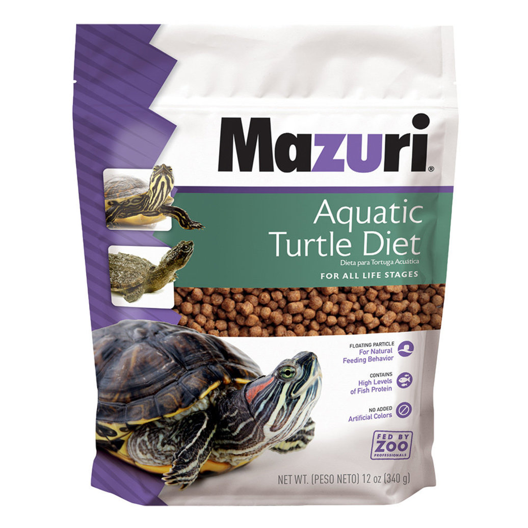 View larger image of Aquatic Turtle Diet - 12 oz