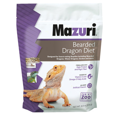 Bearded Dragon Diet - 8 oz