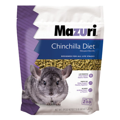 Chinchilla Diet - 2.5 lb