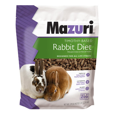 Rabbit Diet w/ Timothy Hay - 5 lb