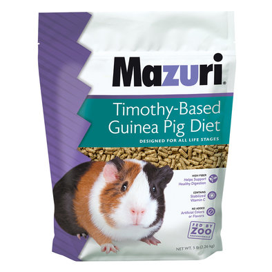Timothy Based Guinea Pig Diet - 5 lb