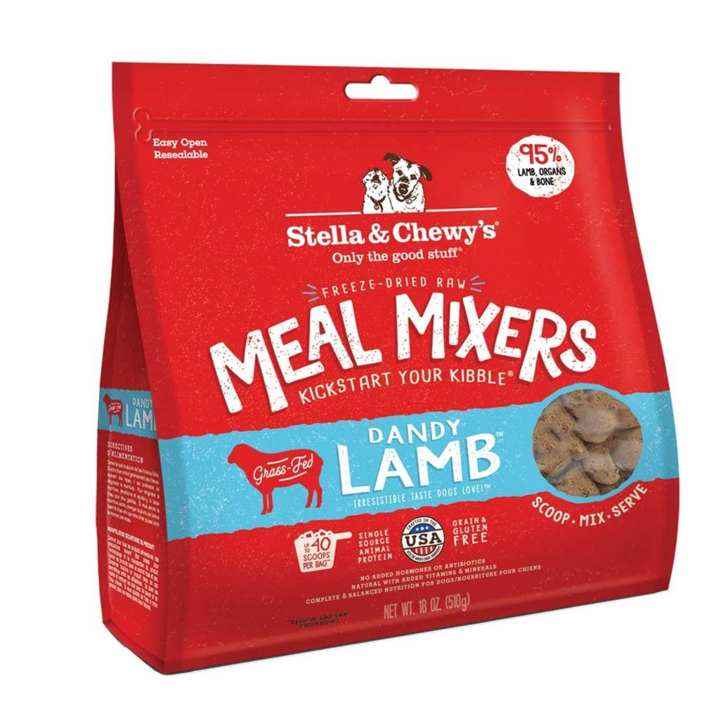 View larger image of Dog Freeze-Dried Raw, Dandy Lamb Meal Mixers - 510 g