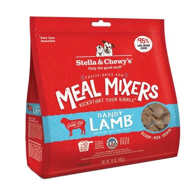 Dog Freeze-Dried Raw, Dandy Lamb Meal Mixers - 510 g