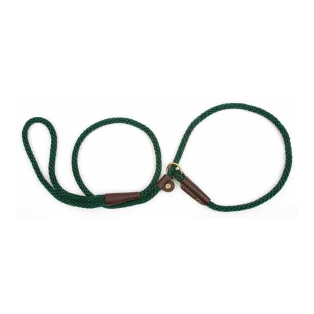 """View larger image of Small Slip Lead - Hunter Green - 3/8"""" Width"""