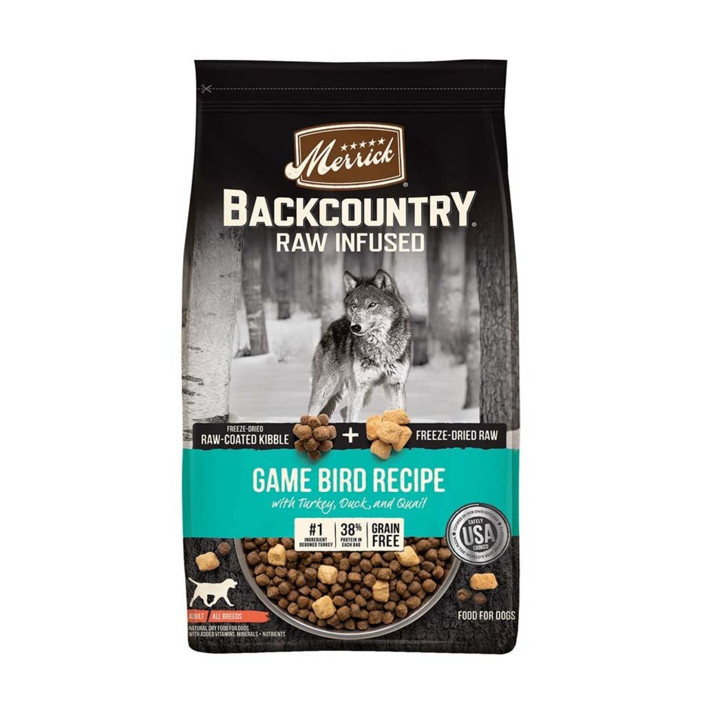 View larger image of Grain Free Backcountry Raw Infused Game Bird