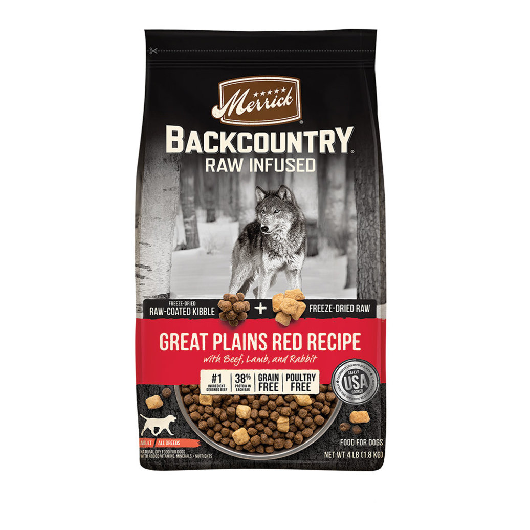 View larger image of Grain Free Backcountry Raw Infused Great Plains Red