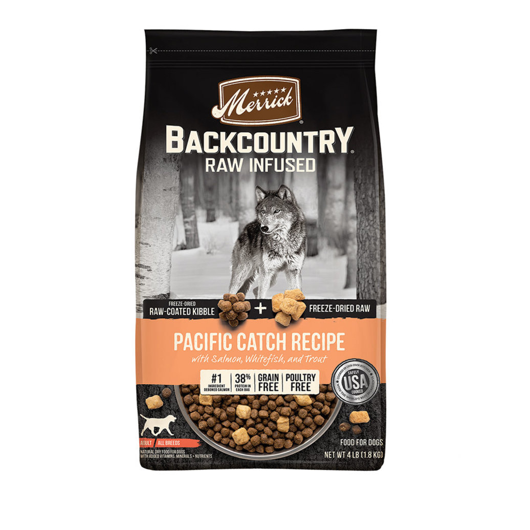 View larger image of Grain Free Backcountry Raw Infused Pacific Catch