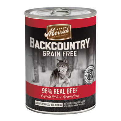 Backcountry 96% Real Beef Recipe - 12.7 oz